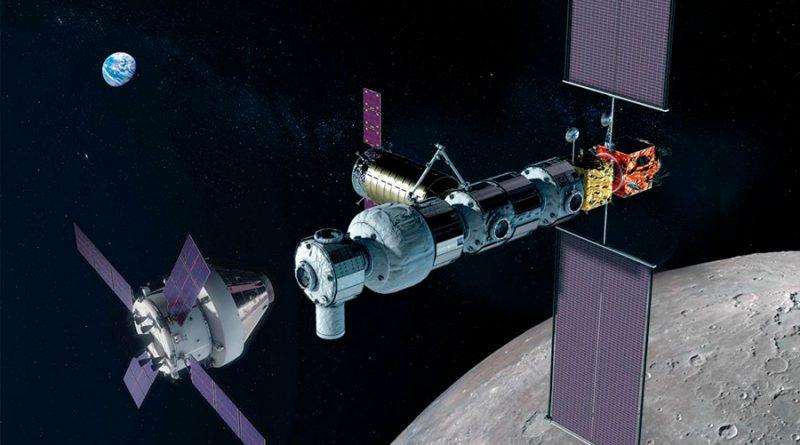 """La futura estación lunar tendrá un detector de radiación y una """"estación meteorológica"""" espacial"""