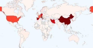 El mapa del coronavirus: más de 263 mil casos y 11 mil muertos en 171 países