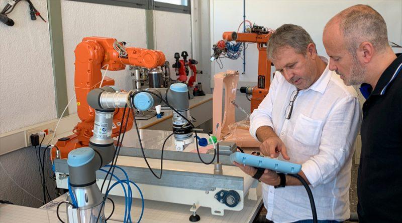 Un brazo robótico para asistir en operaciones de útero