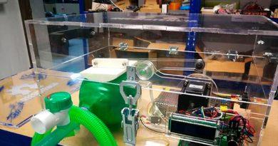 Un grupo de ingenieros españoles se une para fabricar respiradores de bajo coste con impresión 3D