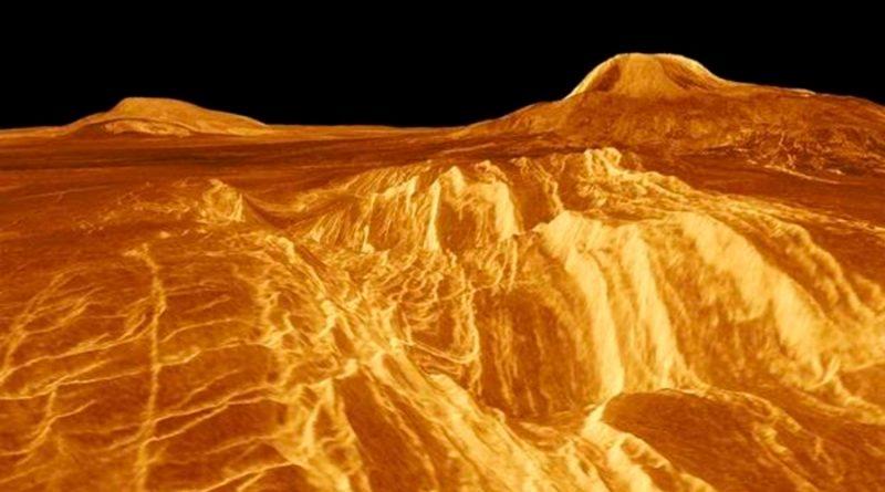 ¿Qué son las extrañas líneas rectas que se ven en parte superficial de Venus?