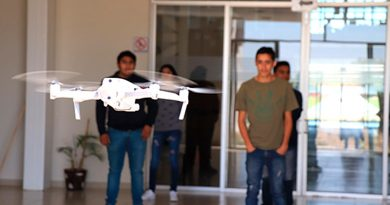 TecNM utiliza drones con cámaras térmicas para medir la temperatura de estudiantes