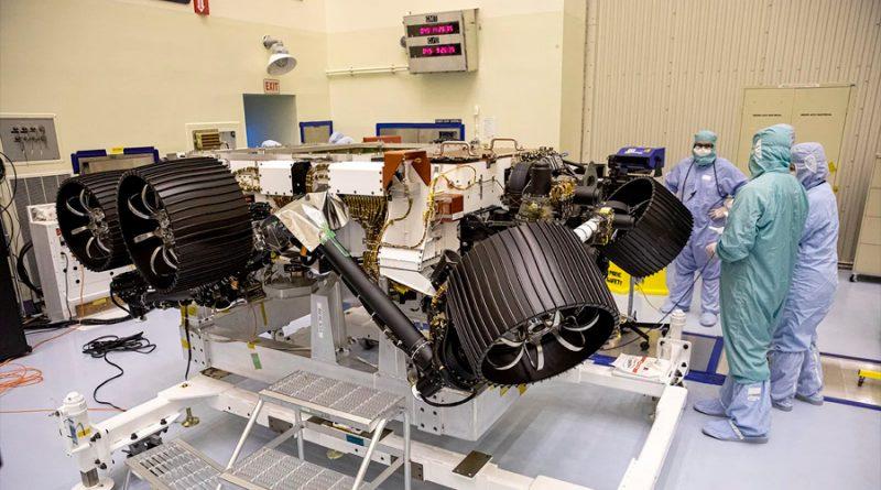 El próximo robot a Marte se halla en la recta final de ensamblaje