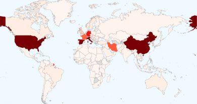 Saldo mundial del coronavirus: 462 mil casos en 187 países y muertes supera cifra de 21 mil personas