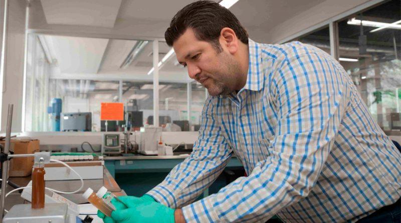 Investigador mexicano contribuye al medio ambiente a través de fluidos vegetales