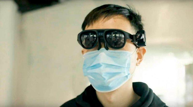 Policía de China comienza a usar gafas de realidad aumentada para detectar personas con fiebre
