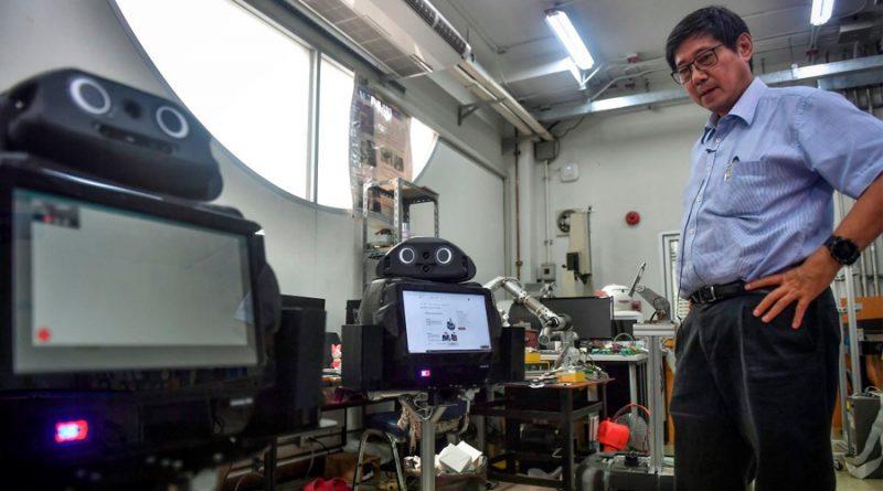Robots en el trabajo peligroso, muestran su potencial en la pandemia