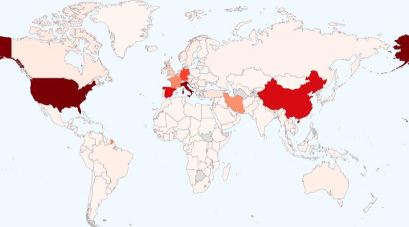 Coronavirus en el mundo: 712 000 casos registrados y más de 33,000 muertos en 192 países