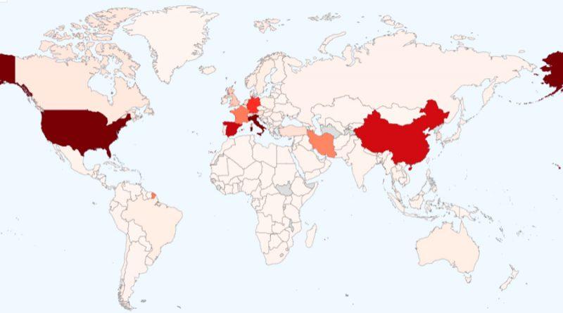 Coronavirus en el mundo: 756, 000 casos registrados y más de 36,000 muertos en 194 países