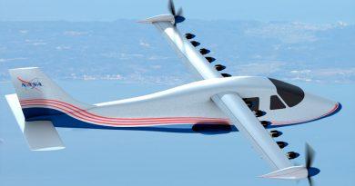 La NASA presenta su avión X pilotado totalmente eléctrico