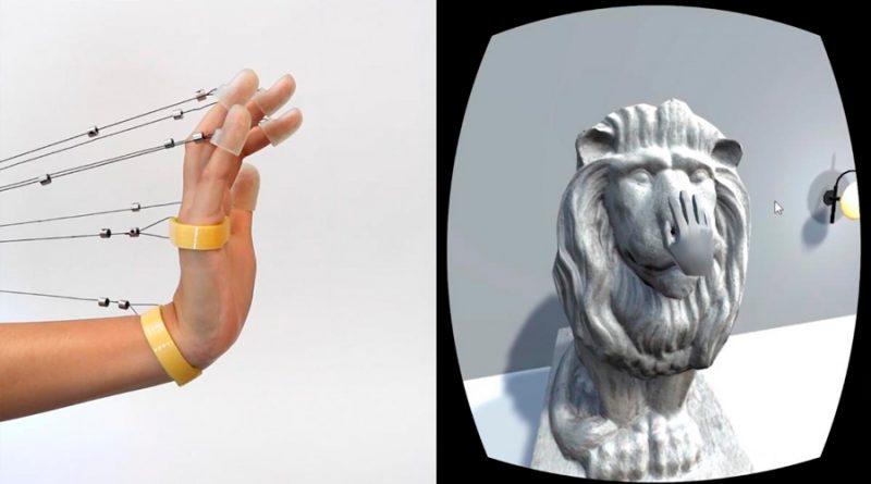 Estas cuerdas permiten sentir la realidad virtual en las manos