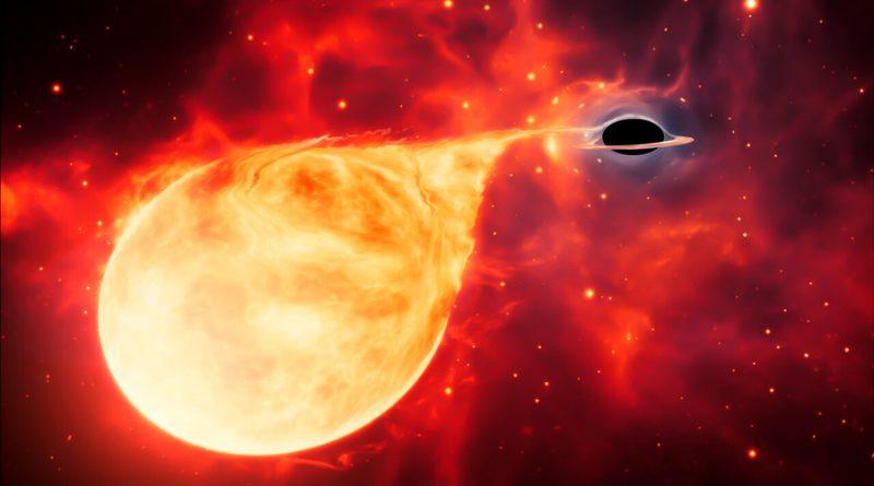 Encuentran el eslabón perdido de los agujeros negros