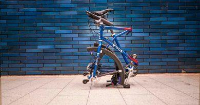 En esta curiosa bicicleta son plegables incluso las ruedas