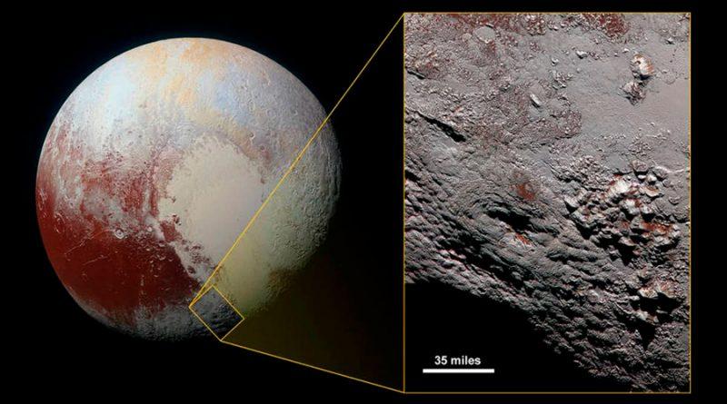 Más evidencia de que Plutón pudo albergar un océano bajo su corteza