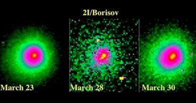 El cometa interestelar Borisov se ha partido en dos