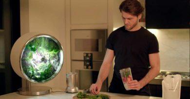 Rotofarm, un huerto circular en la cocina con tecnología de la NASA