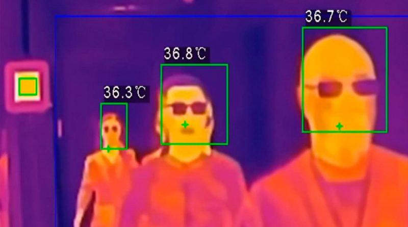 Cámaras termográficas, la apuesta para medir la temperatura a humanos sin contacto físico