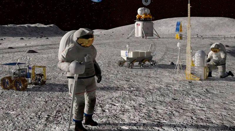 La NASA presenta su campo base para alojar humanos en la Luna