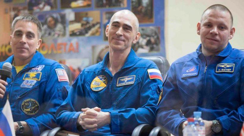 Tripulación de EU y Rusia parte a la Estación Espacial Internacional