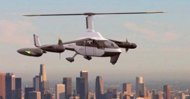 ROSA Gyrodine, el híbrido de avión y helicóptero que podría ser el primer taxi volador eléctrico operativo