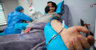 El mundo se prepara para enfrentar la COVID-19 con plasma de supervivientes