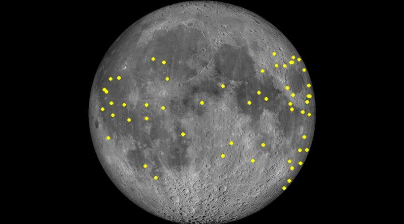 Detectan más de 100 impactos de meteorito en el lado obscuro de la Luna