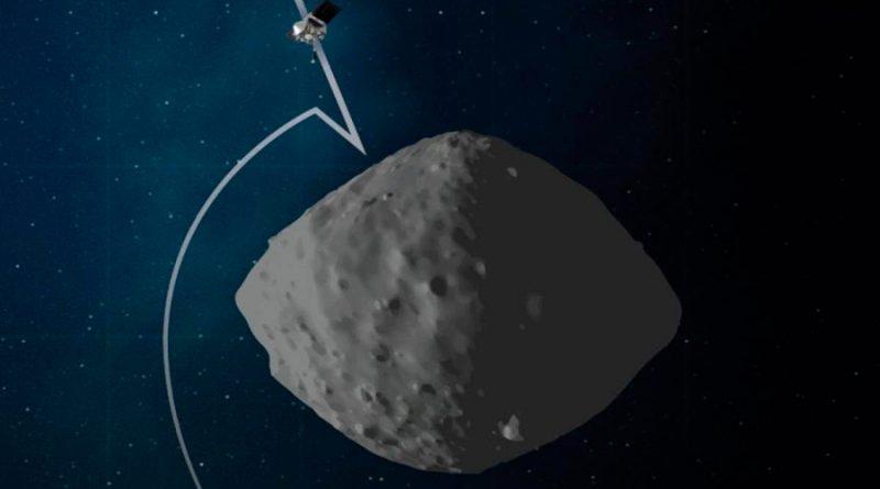 La misión OSIRIS-REx de la NASA, a 75 metros del asteroide Bennu