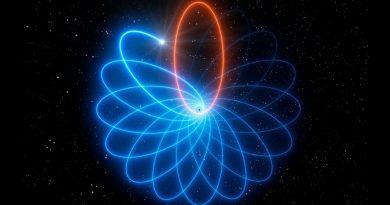 Observan la danza estrella-agujero negro que predijo Einstein