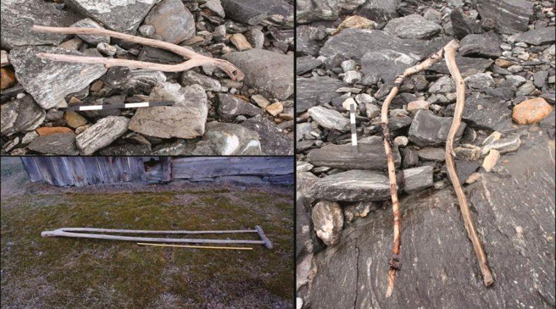 Glaciar en Noruega se derrite y deja al descubierto antiguos objetos vikingos