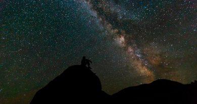 En estos días de abril podrás ver la lluvia de estrellas líridas