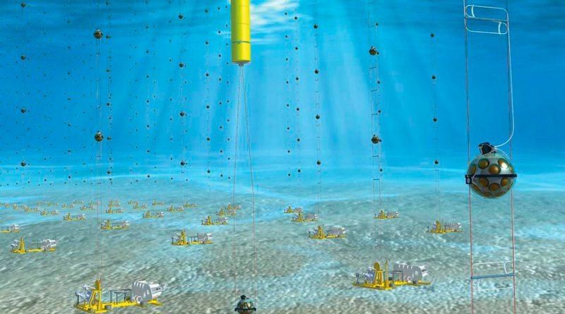 Un telescopio submarino para detectar neutrinos