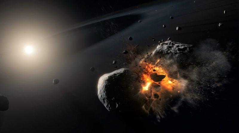 Hay al menos 20 asteroides infiltrados en nuestro sistema solar, que se formaron en cúmulos cercanos