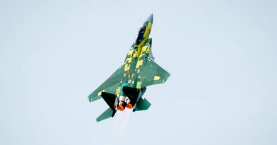 Mira cómo despega en vertical la versión más avanzada del mítico caza F-15