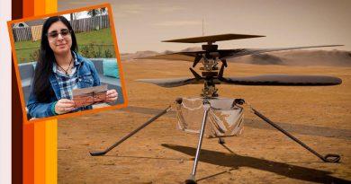 El helicóptero marciano, la primera aeronave para otro planeta, ya tiene nombre: Ingenuity (Ingenio)