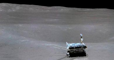El rover chino recorre otros 27 metros en la cara oculta de la Luna