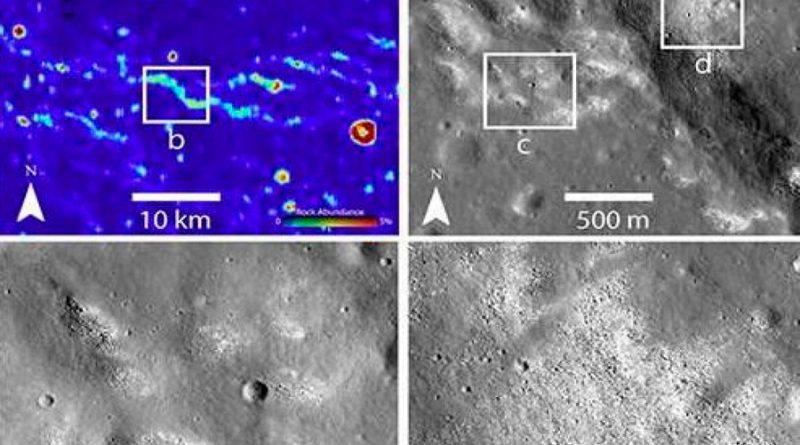 Hallan evidencia de un sistema tectónico activo en la Luna