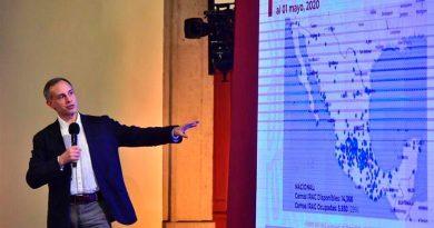 Alarmante escenario del Covid-19 en México: la UNAM calcula que en hay más de 176,000 infectados