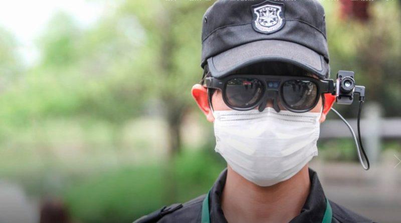 China usa anteojos de IA en busca de personas con síntomas de Covid-19