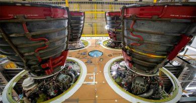 La NASA encarga otros 18 motores de cohete para el regreso a la Luna