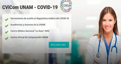 Desarrolla UNAM grupo de cómputo auxiliar en diagnóstico de Covid-19