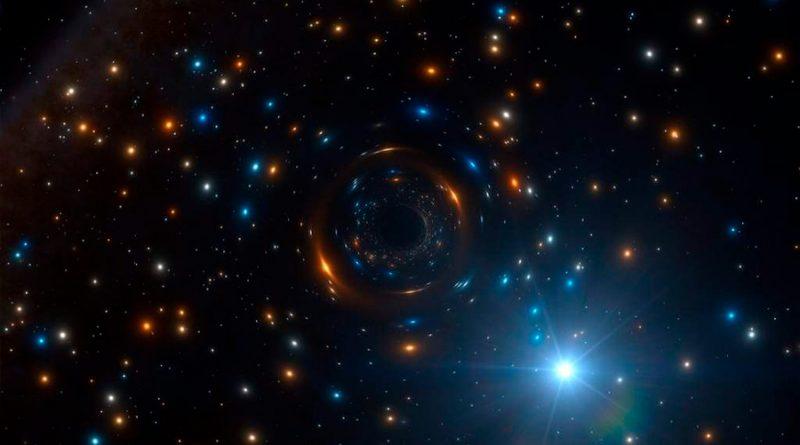Descubren el primer sistema estelar con agujero negro que se puede ver a simple vista