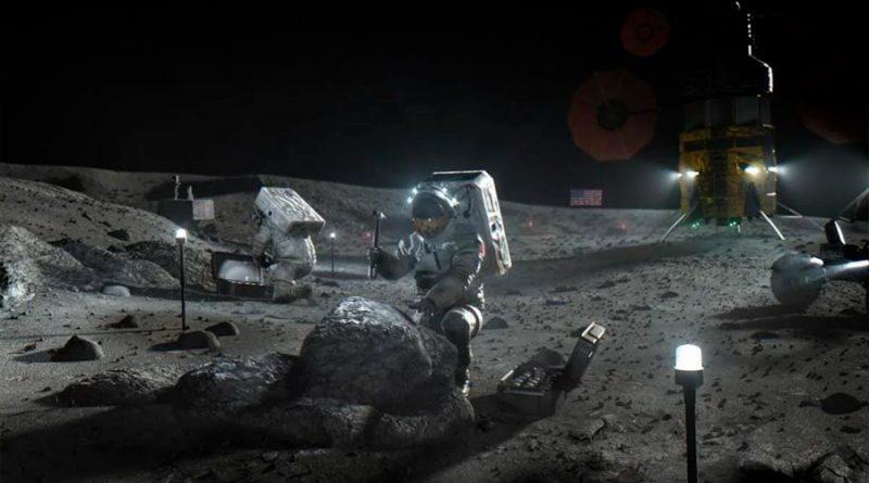 Descubren que orina de astronautas podría ser utilizada en la construcción de una base lunar