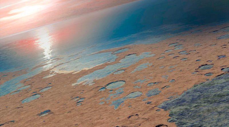 Cianobacterias en Atacama consiguen el agua de las rocas que colonizan