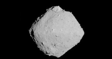 Japón halla evidencia de un cambio de órbita en el asteroide Ryugu
