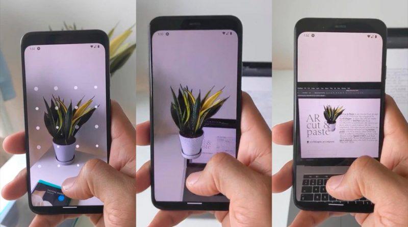 La realidad aumentada ahora permite escanear objetos y pegarlos directamente en Photoshop