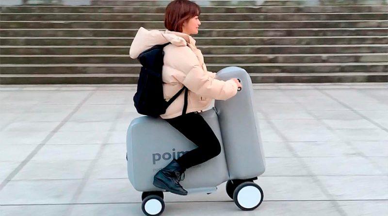 Esta bicicleta eléctrica es inflable y cabe en una mochila