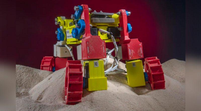 """Un nuevo rover muestra cómo salir """"gateando"""" de las arenas del planeta Marte"""