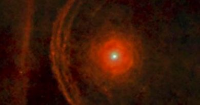Confirmado: una nube de polvo atenuó el brillo de la estrella Betelgeuse en los últimos meses