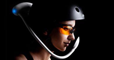 Iwind, el filtro de aire que lanza aire puro a la cara de los ciclistas y runners