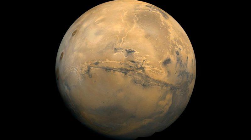 Científicos descubren el secreto de los flujos de lava en Marte